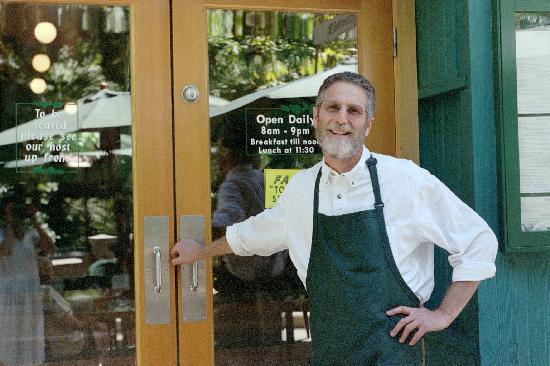 Greenleaf Restaurant: Owner Daniel