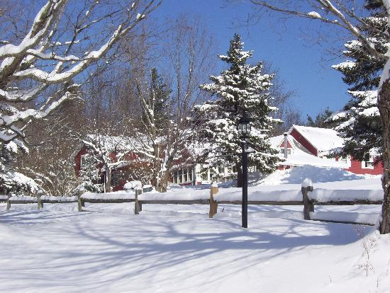 After a winter storm at The Vermont Inn