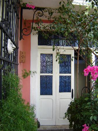 Hotel Julamis: Terrace door