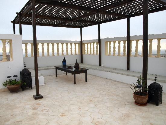 Moroccan Surf Adventures: rooftop terrace