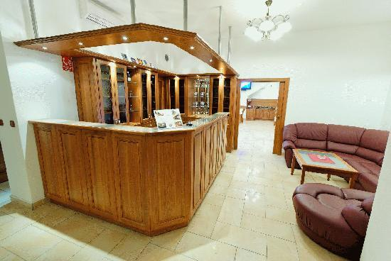 Hotel Pegas Brno: Hotrel Pegas Brno- reception