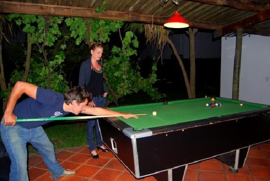 Stumble Inn Backpackers Lodge Stellenbosch: Pool Table