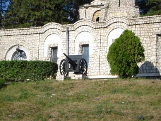 Near Pitesti Romania. A WWI memorial.
