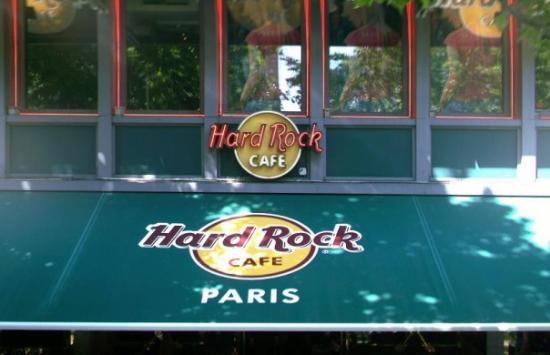 Hard Rock Cafe Paris: Hard Rock Paris!