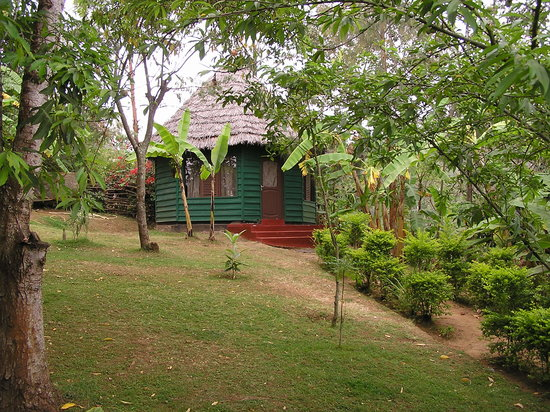 Songota Falls Lodge: Beautiful gardens to relax in