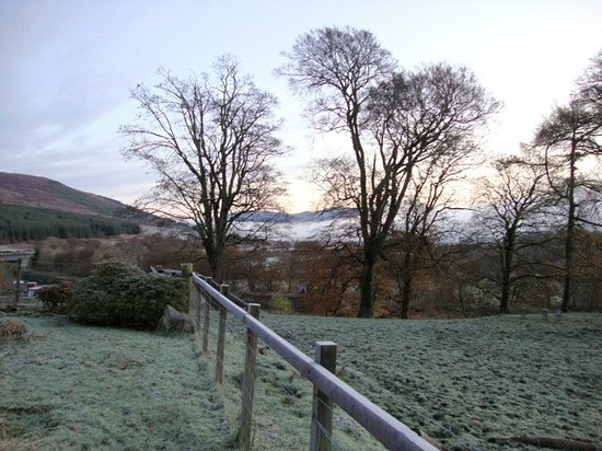 Strone Farm: from the garden towards caledonian canal