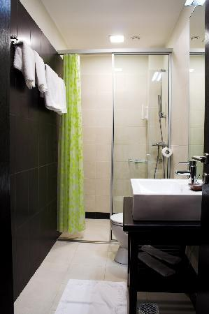 Hotel Excelsior : Shower