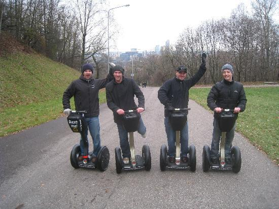 Super SEGWAY : heading up to three crosses