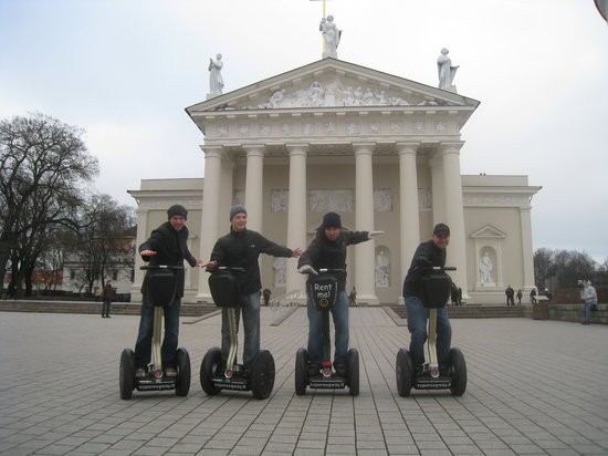 Super SEGWAY : main sightseeing area