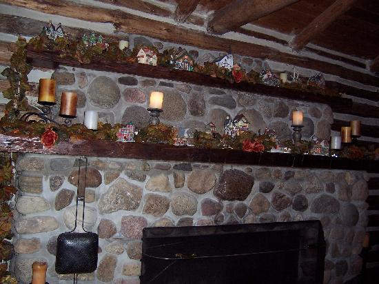 The Chalet of Canandaigua: Mantle at the Chalet