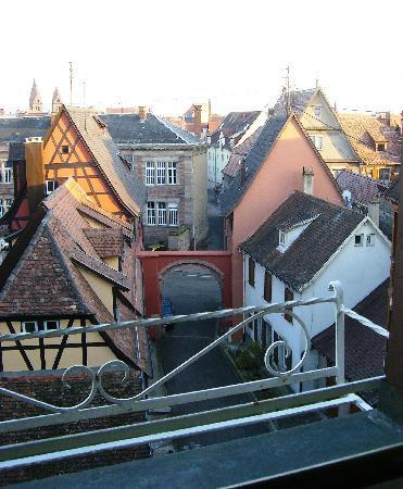 Hostellerie de la Pommeraie: View from our room