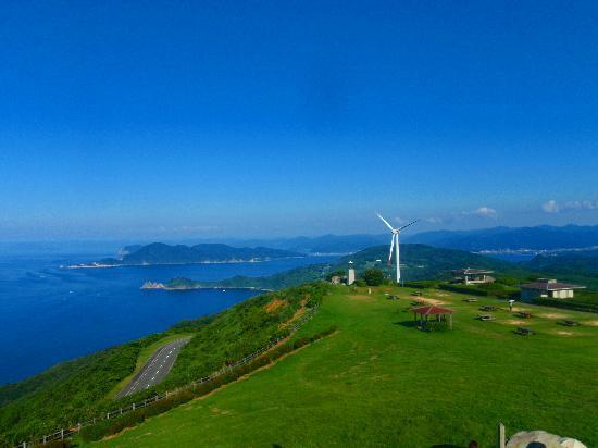 Nagato, Japan: 正面にある風車