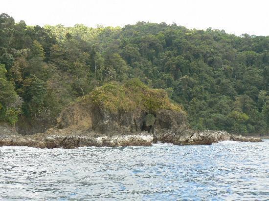 Isla de Coiba, Panama: Pacific side of island