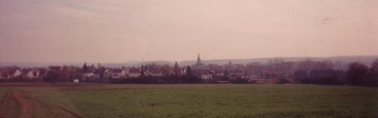 Hochstadt, Germany: The Skyline