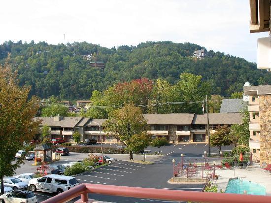 جونسونز إن: view from 4th floor