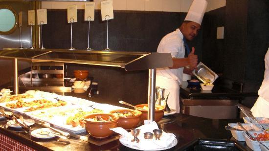 Iberostar Grand Hotel Bavaro : Breakfast buffet.