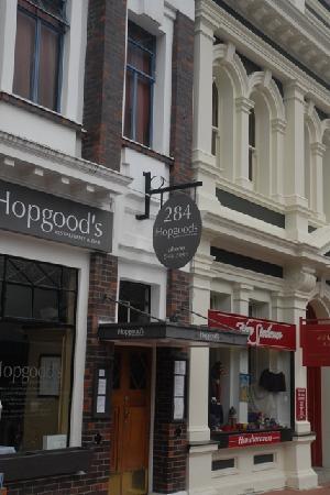 Hopgoods: entrance