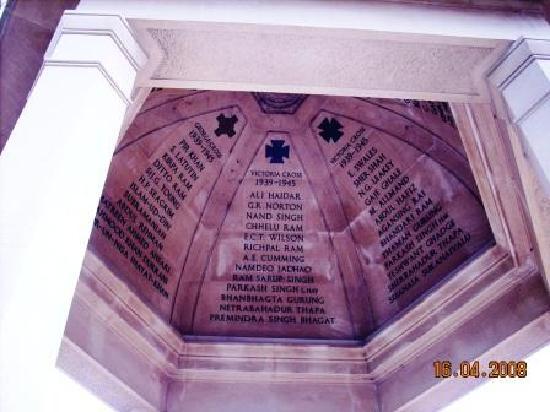 The Memorial Gates: Medal Winners