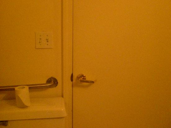 The Fitzgerald Hotel: The desk clerk needs to get in your bathroom too!