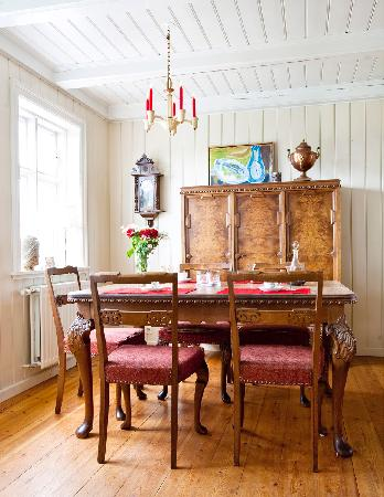 Dining Room in Rein Guesthouse Eyrarbakki, Iceland