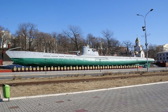 S-56 Submarine Museum : S-56 Submarine from World War II. Sunk 10 enemy ships during the war.