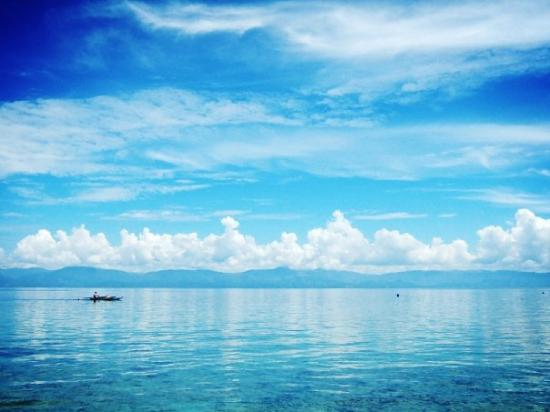 Moalboal Philippines  city photos : Moalboal, Philippines public white beach Picture of Moalboal, Cebu ...