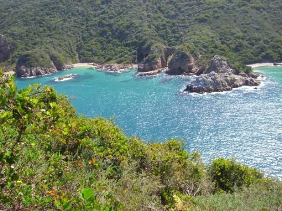 Knysna, South Africa: at the heads
