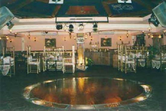 Sugar Huts: dance floor