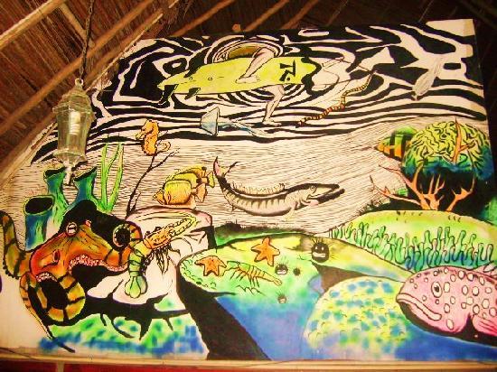 Hotel La Rumba, Costa Azul Beach: The Murals Arts @ The Restaurant &Bar