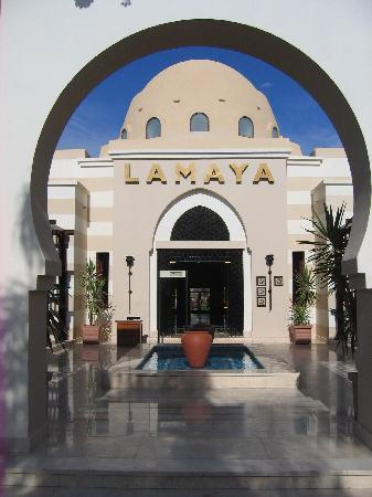 Jaz Lamaya Resort: Entrance to Lamaya