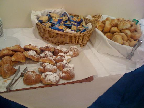 Hotel Centro Roma: Breakfast