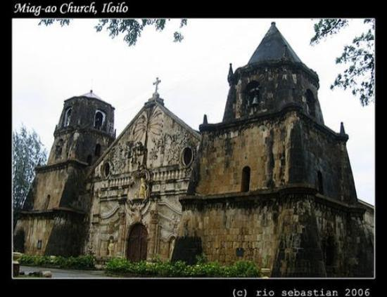 Iloilo City, Filipinas: Miag-ao Church, Iloilo (one of the four UNESCO-inscribed world heritage baroque churches in the