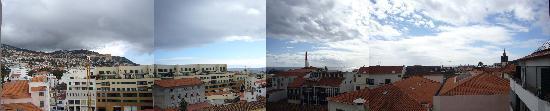 Do Centro Hotel: Panorama from balcony
