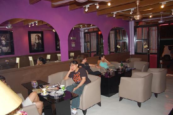 Interior of orang belanda art cafe