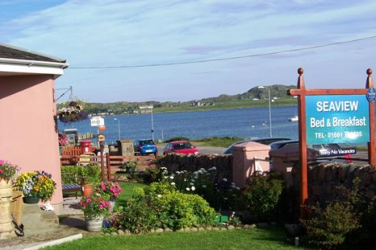 Seaview Bed & Breakfast: Seaview B&B overlooking Iona