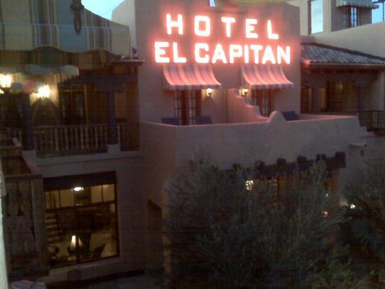 Front of Hotel El Capitan