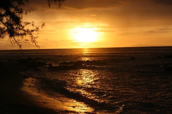 Tamarin Bay : Another once in a lifetime sunset!