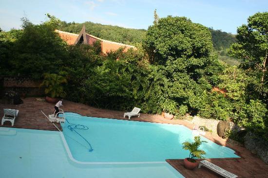 Karuna Meditation Center: Nakatani Village pool that KYMC guest are allowed to use.JPG