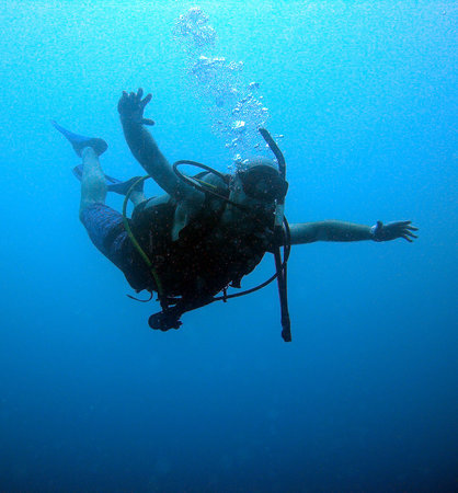 Diving Planet: My first underwater experience