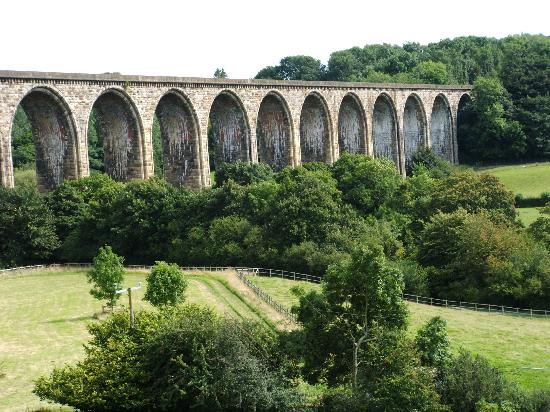 Llangollen, UK: The viaduct
