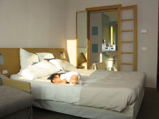 Novotel Milano Malpensa Airport : big bed and clean/PRACTICAL bathroom