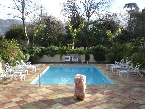 The Last Word Constantia: pool area