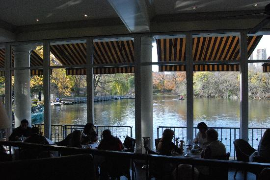The Loeb Boathouse at Central Park: interior