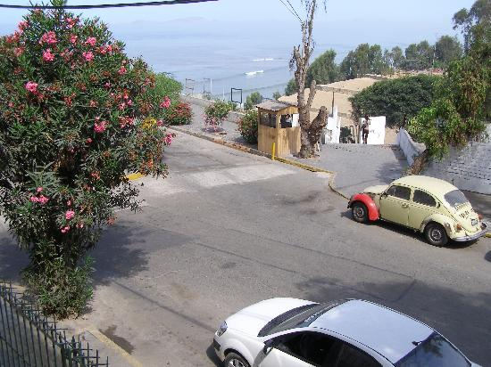 Barranco's Backpackers Inn: view from our room