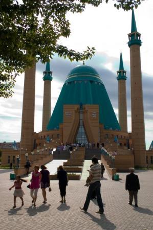 Pavlodar, Kasakhstan: Den ny moske