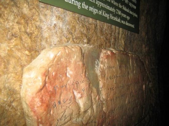 Hezekiah's Tunnel - Siloam Tunnel: Στο τούνελ του Εζεκία