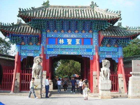 Confucius Temple : Confucius Graveyard.
