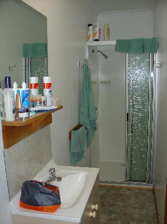 Port Arthur Holiday Park: Bathroom (Deluxe Cabin)