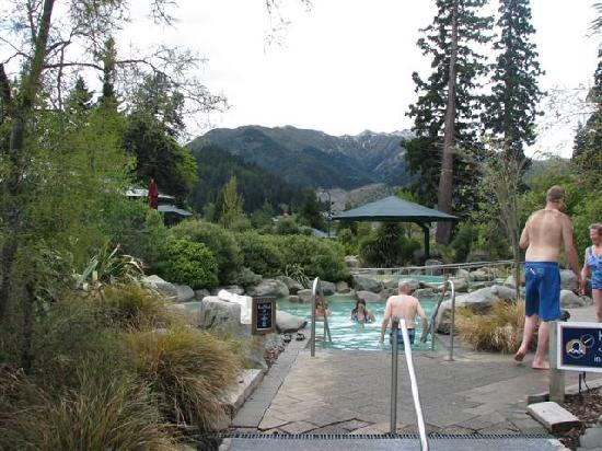 Hanmer Apartments : The hot springs