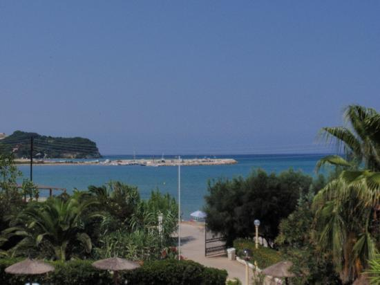 Angela Beach Hotel: vue chambre balcon